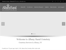 Tablet Preview of albanyruralcemetery.org